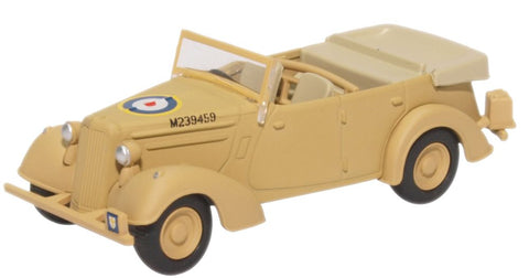 Oxford Diecast Humber Snipe Tourer Old Faithful - Tripoli 1943