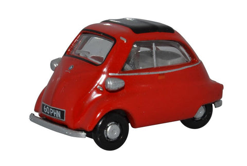 Oxford Diecast BMW Isetta Signal Red