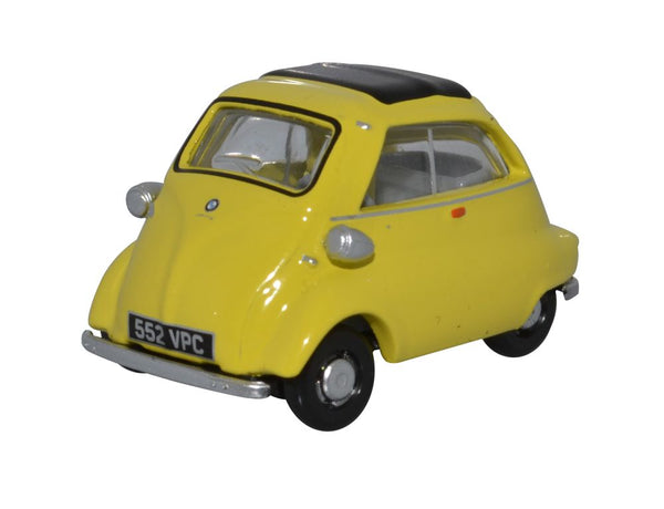 Oxford Diecast Yellow BMW Isetta