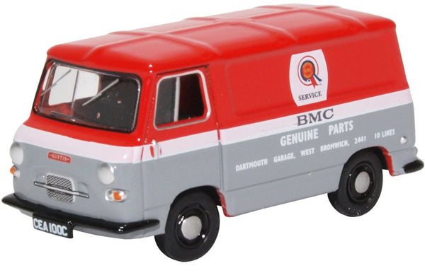 Oxford Diecast Austin J4 Van BMC Parts