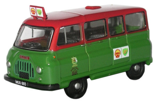 Oxford Diecast Shell-Mex & BP Ltd Austin J2 Minibus - 1:76 Scale