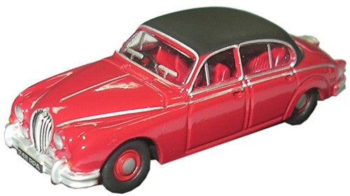 Oxford Diecast Jaguar MKII Jag Regency Red - 1:76 Scale