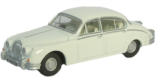 Oxford Diecast Jaguar MKII Old English White - 1:76 Scale