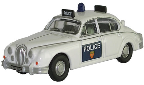 Oxford Diecast Jaguar MKII Leicestershire & Rutland Conts - 1:76 Scale