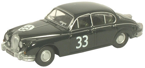 Oxford Diecast Racing Green/Jaguar MkII - 1:76 Scale