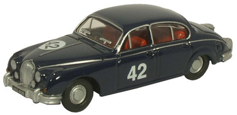 Oxford Diecast Equipe Endeavour/Stirling Moss Jaguar MkII - 1:76 Scale