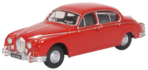 Oxford Diecast Jaguar MKII Carmen Red