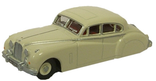 Oxford Diecast Jaguar MK7 Ivory - 1:76 Scale
