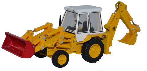 Oxford Diecast JCB 3cx (1980s)