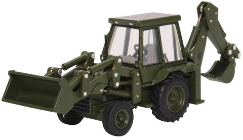 Oxford Diecast JCB 3CX (1980s) Army