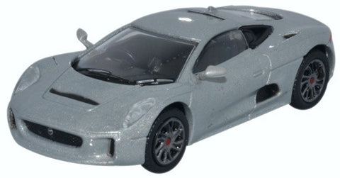 Oxford Diecast Jaguar CX75 Silver
