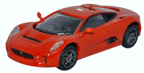 Oxford Diecast Jaguar C-X75 Prototype Orange