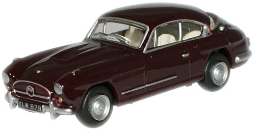 Oxford Diecast Imperial Crimson Jensen 541R - 1:76 Scale