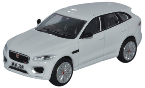 Oxford Diecast Jaguar F-pace Polaris White