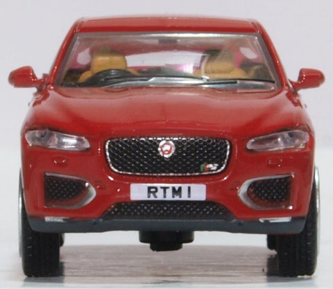 Oxford Diecast Jaguar F Pace Italian Racing Red 1:76