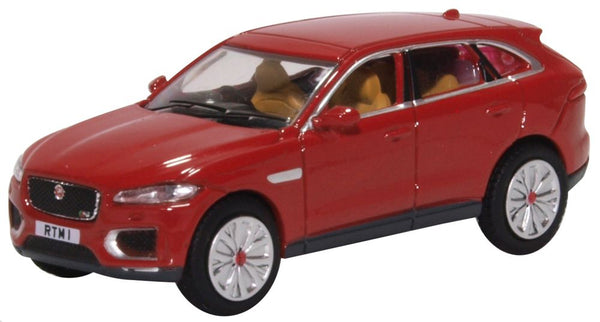 Oxford Diecast Jaguar F Pace Italian Racing Red