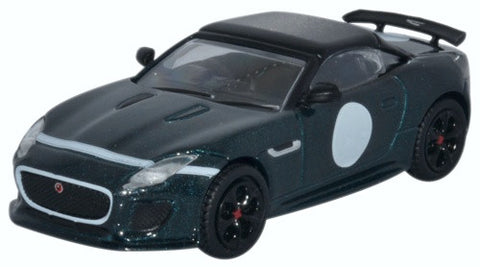 Oxford Diecast Jaguar F-Type Project 7 British Racing Green
