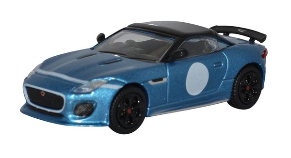 Oxford Diecast Jaguar F Type Project 7 Ultra Blue