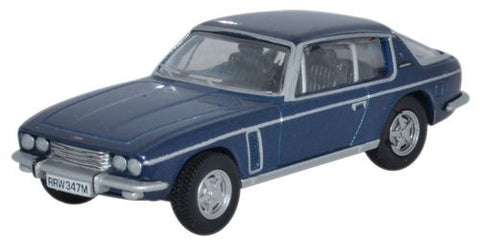 Oxford Diecast Jensen Interceptor Royal Blue - 1:76 Scale