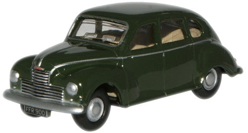 Oxford Diecast Racing Green Jowett Javelin - 1:76 Scale