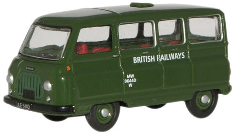 Oxford Diecast British Railways Morris J2 Van - 1:76 Scale