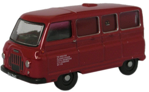 Oxford Diecast Post Office Engineering Morris J2 Van - 1:76 Scale