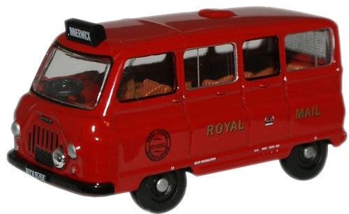 Oxford Diecast Royal Mail Morris J2 Postbus - 1:76 Scale
