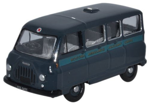 Oxford Diecast Morris J2 Ambulance Scottish Ambulance Auxiliary Corps