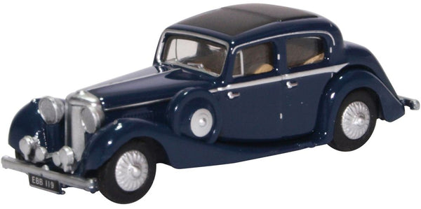 Oxford Diecast SS Jaguar Dark Blue