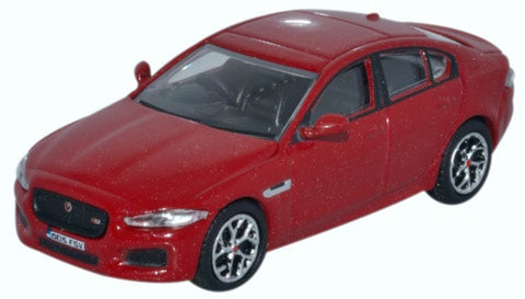 Oxford Diecast Jaguar XE Italian Red