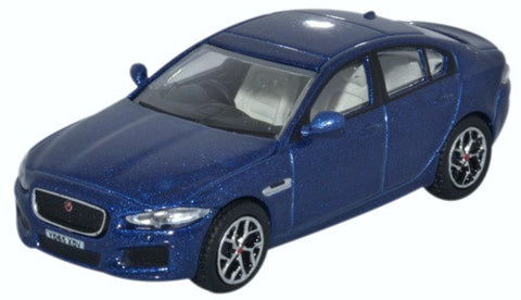 Oxford Diecast Jaguar XE Bluefire
