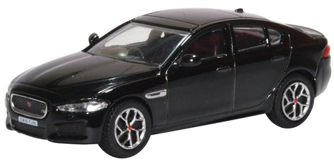 Oxford Diecast Jaguar XE Narvik Black