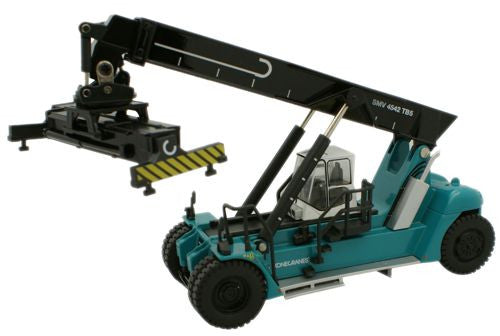 Oxford Diecast Konecranes Reach Stacker Blue - 1:76 Scale