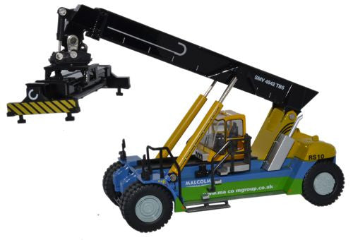 Oxford Diecast Konecranes Reach Stacker W H Malcolm - 1:76 Scale