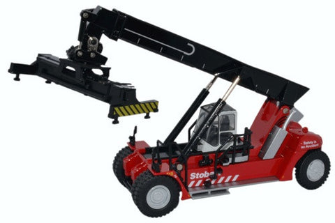 Oxford Diecast Konecranes Reach Stacker Stobart Red