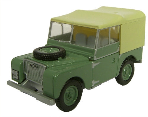 Oxford Diecast Sage Green (HUE) L/Rover Series I 80 - 1:76 Scale