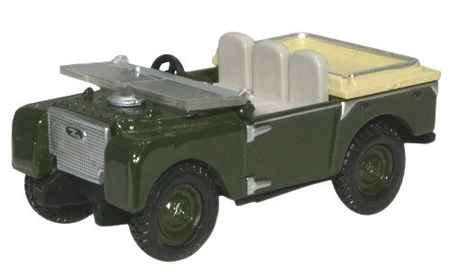 Oxford Diecast Land Rover 80 inch Flat Back - 1:76 Scale