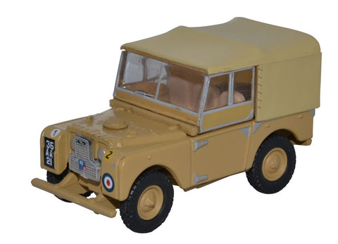 "Land Rover Series 1 80"" Canvas 34th Light AA Reg, RAF Firdan"