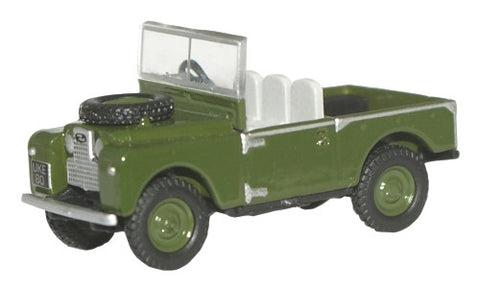 Oxford Diecast Bronze Green Land Rover 88 Open - 1:148 Scale