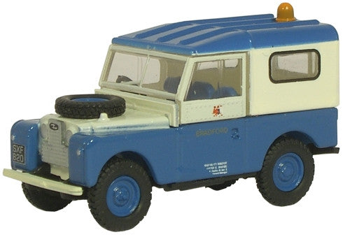 Oxford Diecast Bradford Land Rover - 1:76 Scale