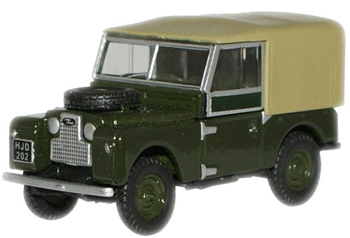Oxford Diecast Land Rover 88 Canvas Green Bronze - 1:76 Scale