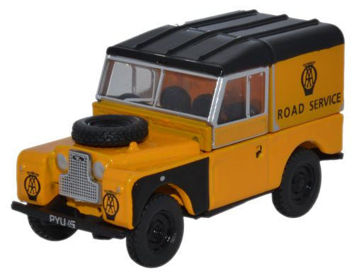 Oxford Diecast Land Rover AA - 1:76 Scale