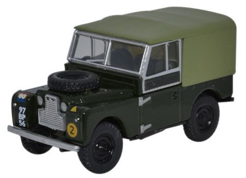 "Oxford Diecast Land Rover Series 1 88"" Canvas REME - 1:76 Scale"