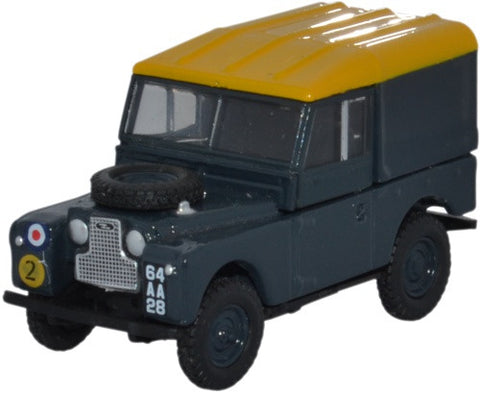 Oxford Diecast Land Rover Series 1 88 Hard Back RAF