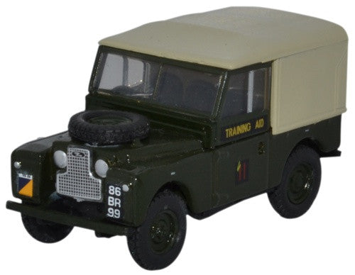 Oxford Diecast Land Rover Series 1 88 Canvas 6th Training Regiment RCT