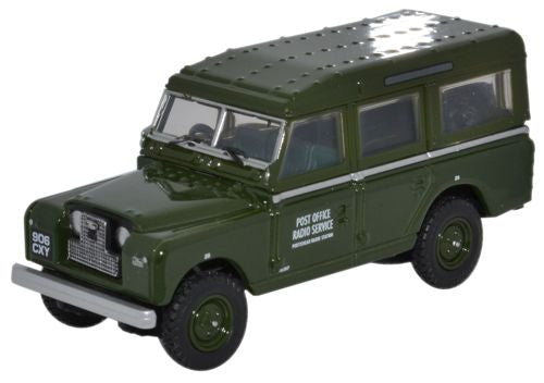 Oxford Diecast Land Rover Series II LWB Station Wagon Post Office Tele