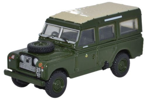 Oxford Diecast Land Rover Series II LWB Station Wagon 44th Home Counti