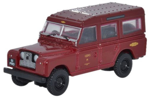Oxford Diecast Land Rover Series II Station Wagon British Railways - 1