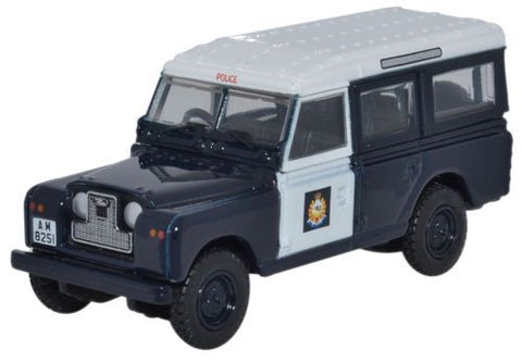 Oxford Diecast Land Rover Series II Station Wagon Hong Kong Police - 1
