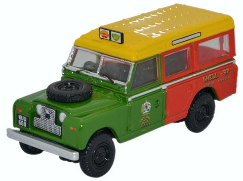Oxford Diecast Land Rover Series Ii Station Wagon Shell BP